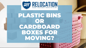 Plastic Bins or Cardboard Boxes for Moving?