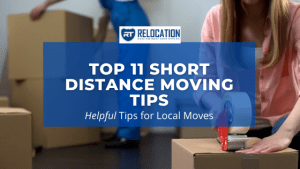 Short Distance Moving Tips